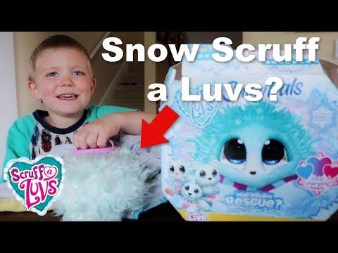 Scruff a Luvs Snow Pals: Unboxing Limited Edition Scruff a Luvs