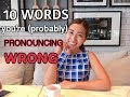 10 Thai Words You're Probably Mispronouncing!| Difficult Pronunciation | Common Mistakes