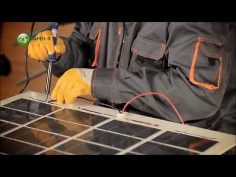 How To Build Your Solar Panel | Make Your Own Solar Cells |