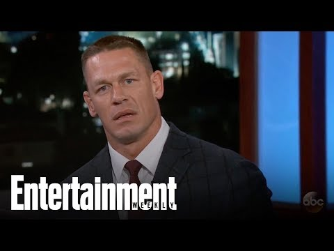 John Cena Responds To Dwayne Johnson Trash Talk On Jimmy Kimmel | News Flash | Entertainment Weekly thumbnail