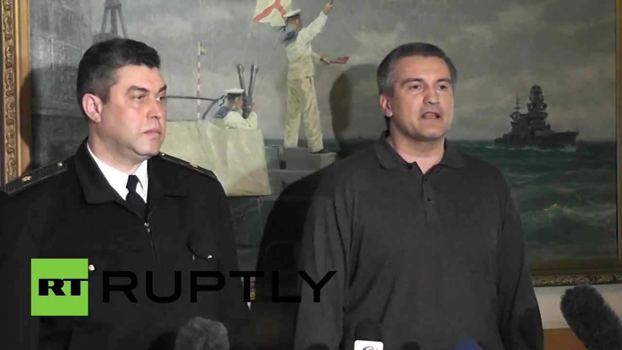 Глава ВМС Украины присягнул народу Крыма