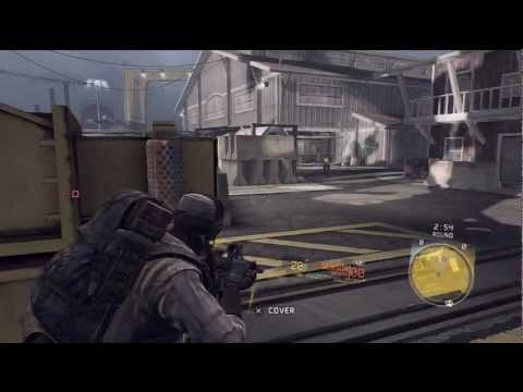 Ghost Recon: Future Soldier, Siege match on map Harbor [PS3]