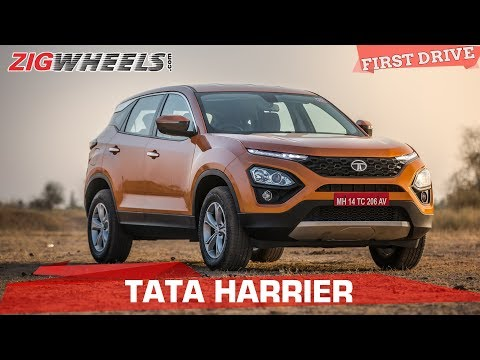 Tata Harrier Review | Tata Takes On The Compass | ZigWheels.com