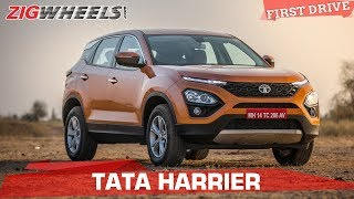 Tata Harrier Review| Price Starts at 12.69 Lakh | Tata Takes On The Compass | ZigWheels.com