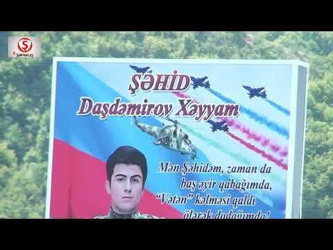 İsmayıllıda Şəhidimiz Xəyyam Daşdəmirovun 40 mərasimi.