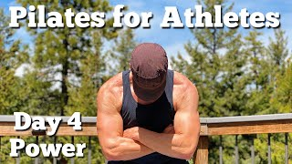 15 min Pilates For Athletes Power and Strength Training With Sean Vigue Fitness