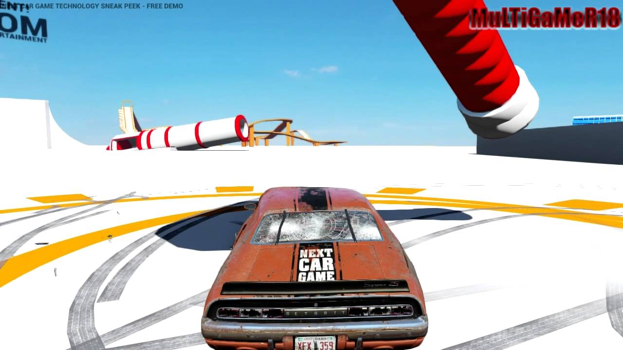 Next Car Game Tech Demo Test Fun With Hammer Youtube