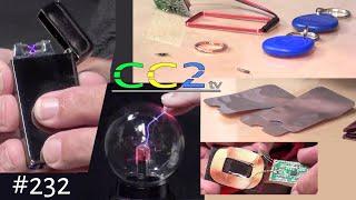 CC2tv #232 Vom Feuerstein zum Lichtbogenfeuerzeug und Kontaktlos Geld klauen