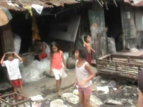 Life in Tondo Slums, Manila, Philippines
