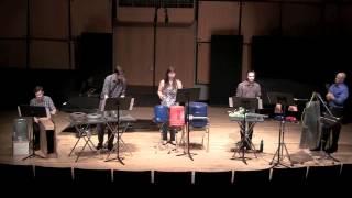 LMU Percussion Ensemble Mario Gaetano Junk Funk