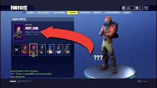 Creepy Easter Egg In Fortnite Battle Royale Secret Character On The Homescreen!!!