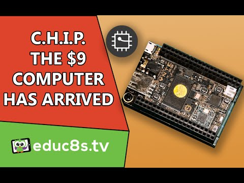 9$ computer Review: The CHIP, the 9$ computer has arrived! A first look and setup tutorial