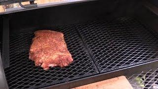 Smoked Pork Butt on the Yoder Wichita -- Lobel
