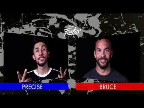 SNIPES FUNKIN STYLEZ 2018 - POPPING HALF FINAL - PRECISE vs. BRUCE
