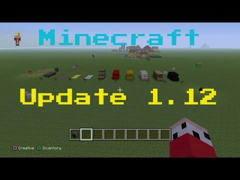 minecraft xbox one update 1.12