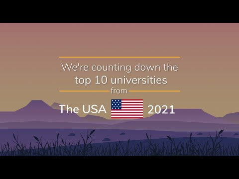 The Top 10 Universities In The USA | QS World University Rankings 2021