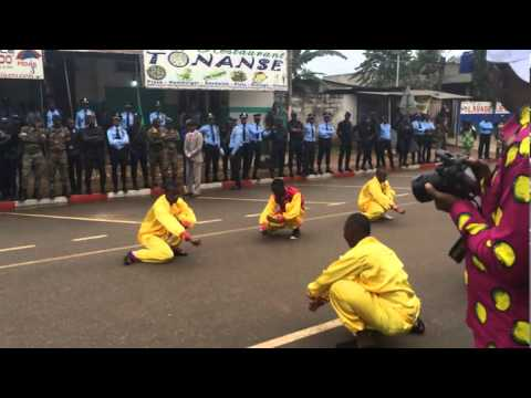 Superb Chinese Martial Arts in Benin, West Africa
