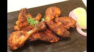 Tandoori Chicken | Non Veg Recipe | Sanjeev Kapoor Khazana