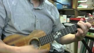 君をのせて - ウクレレ・ソロ / Carrying You - ukulele instrumental cover