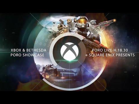 Xbox & Bethesda Games Showcase ITA + Square Enix Presents ITA – PORO LIVE! [Reaction]