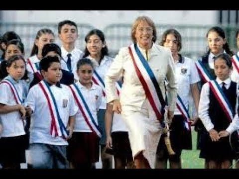 The most LOVED President in the WORLD ( President Michelle Bachelet)