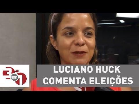 Luciano Huck Comenta Eleições E Diz: Não Existe Salvador Da Pátria