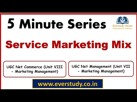 Marketing: Extended Marketing Mix (7P's)