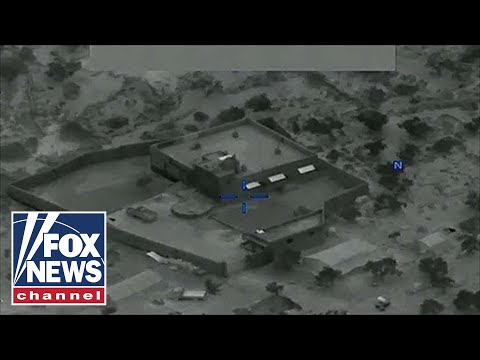 Watch: Drone footage of military raid that killed Baghdadi