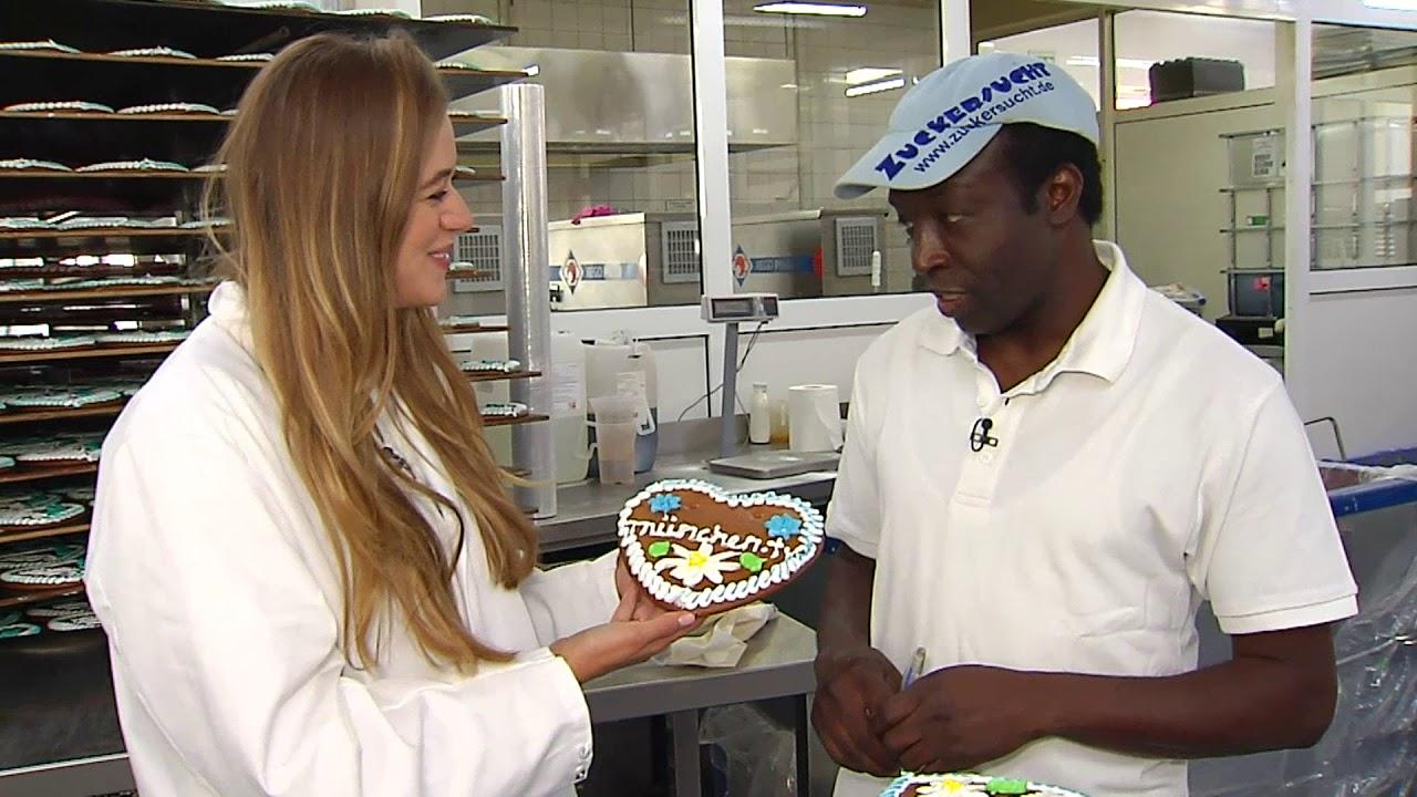Lebkuchenherz - Produktion der beliebten Wiesnmitbringsl läuft auf Hochtouren