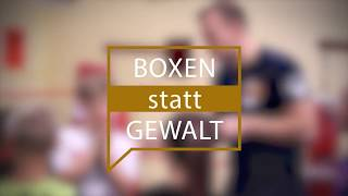 BOXEN statt Gewalt | BC TRAKTOR Schwerin