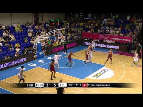 Sonja Petrovic knocks it down as the clock expires
