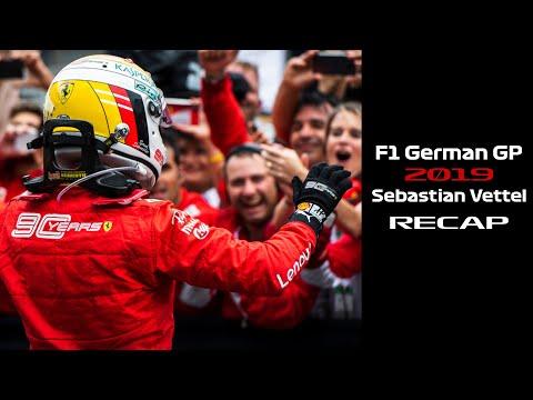F1 German GP 2019 Sebastian Vettel Recap