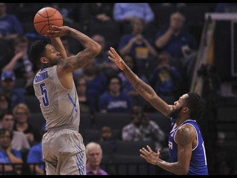 Men's Basketball Highlights - Memphis 66, Tulsa 44