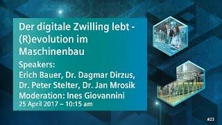 Der digitale Zwilling lebt — (R)evolution im Maschinenbau | 25 April 2017 - 10:15 am thumbnail