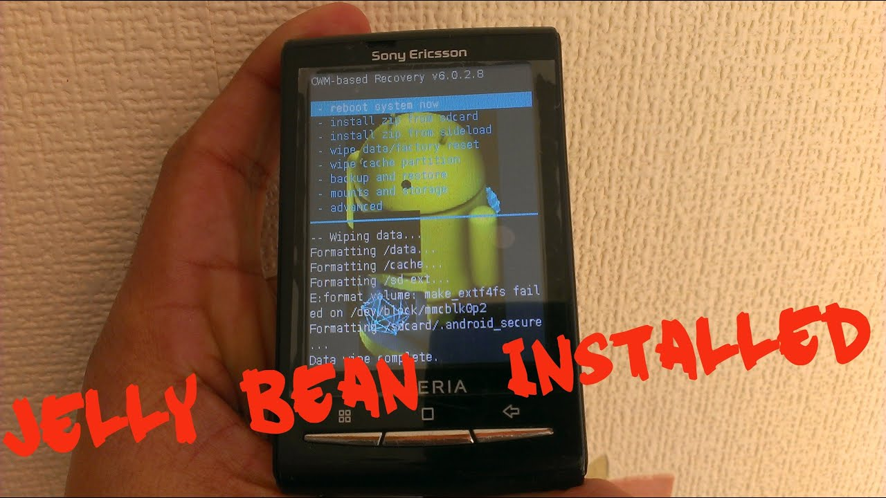 Xperia X10 Mini ROOT+INSTALL JELLYBEAN TUTORIAL - YouTubeXperia X10 Mini ROOT+INSTALL JELLYBEAN TUTORIAL. Android Doctor