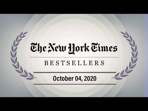 The New York Times Best Sellers Weekly Ranking - October 04, 2020