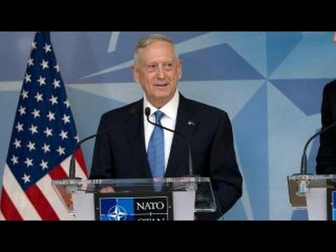 Mattis says NATO partners must increase defense spending