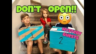 DON'T OPEN THE WRONG MYSTERY BOX SURPRISE! with MYSTERY GUESTS!