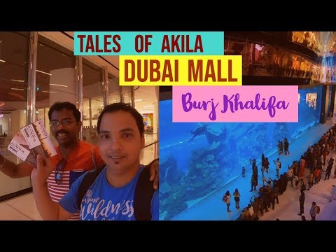 Dubai Mall | Worlds largest mall| Burj Khalifa | Dubai Fountain|  Dubai Tour in Tamil / தமிழ்