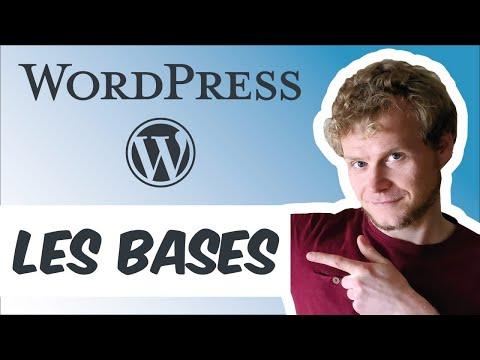 Formation WordPress : toutes les bases en 8 minutes !  (2020) Gutenberg, pages, articles de blog,...