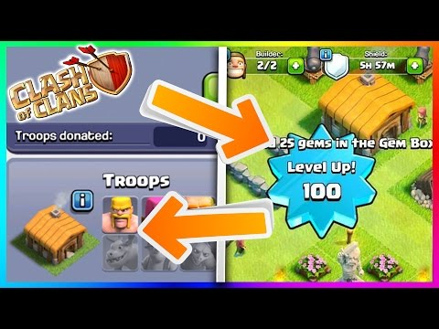 HIGHEST LEVEL TOWN HALL 2 IN CLASH OF CLANS! (Level 100 Town Hall 2) TH2 World Record!