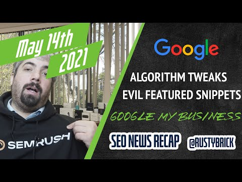 Two Google Algorithm Updates, Machine Learning at Google, Google My Business Updates & More - YouTube