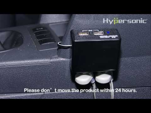 Double USB Charger Power Sockets Hypersonic HP2692