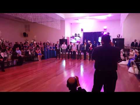 Surprise Wedding Dance with the Whole Family