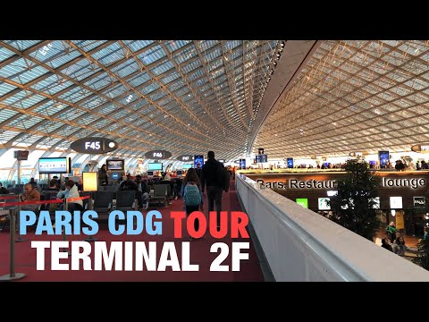 Paris Charles De Gaulle Airport Terminal 2F Tour
