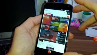 Firefox OS - Nexus 4 - Marzo 2014