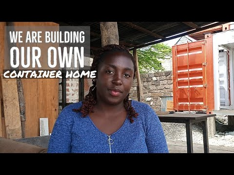 We are building OUR Container HOME!