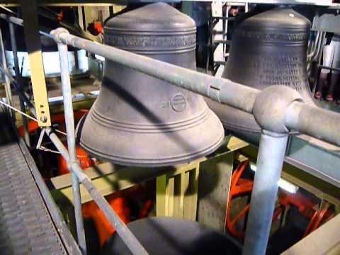York Minster Bells - Inside Bell Chamber