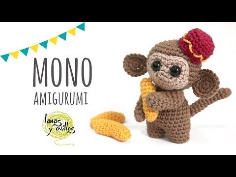 Tutorial Mono Amigurumi Crochet o Ganchillo - YouTube