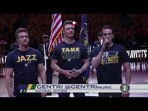 National Anthem (4.27.18) - Jazz vs. Thunder (2018 NBA Playoffs) | GENTRI